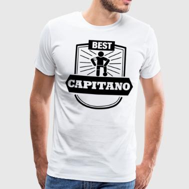 Best Capitano Shirt - Football Captain - Maglietta Premium da uomo