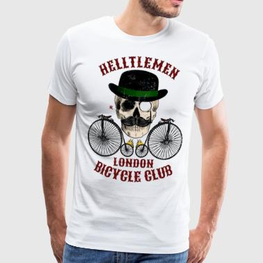 Club de vélo Vintage (Helltlemen). Version couleur - T-shirt Premium Homme