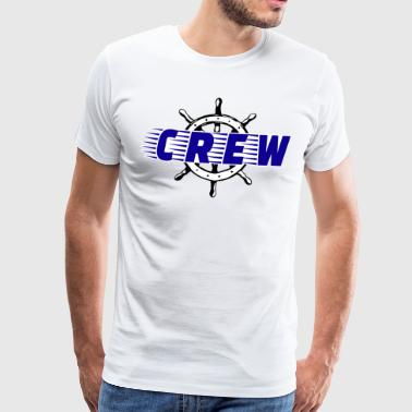 Crew boat water sports - Men's Premium T-Shirt