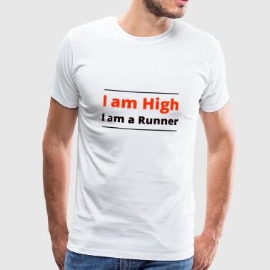 High Runner 1 - Mannen Premium T-shirt