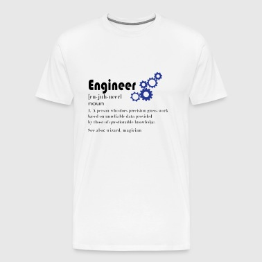 Engineer engineer technician definition diploma - Men's Premium T-Shirt