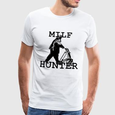 MILF HUNTER - T-shirt Premium Homme