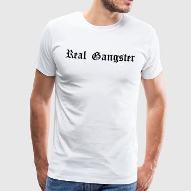 Real Gangster - Men's Premium T-Shirt