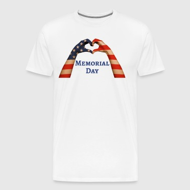 US Memorial Day 2018 in Love to the Fallen - Maglietta Premium da uomo