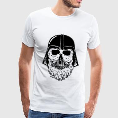 bearded darth vader - Männer Premium T-Shirt