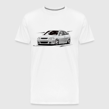 astra g without driver - Men's Premium T-Shirt