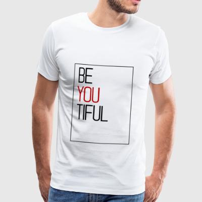 beautiful - Men's Premium T-Shirt