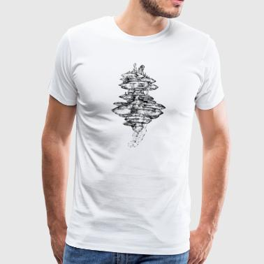 Floating - Mannen Premium T-shirt