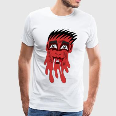 monstre rouge - T-shirt Premium Homme