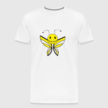 Butterfly skræmmende monster emo kids gave - Herre premium T-shirt