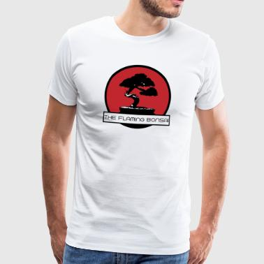 The Flaming Bonsai Finale Firmenlogo - Männer Premium T-Shirt