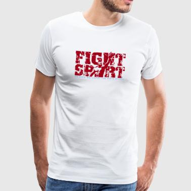 SPEAR FIGHTSPORT - Herre premium T-shirt
