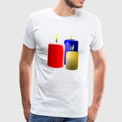 candles - Men's Premium T-Shirt