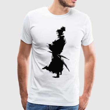 KING SAMURAI COLLECTION - Mannen Premium T-shirt
