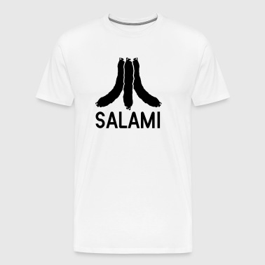 Salami pyramid - Men's Premium T-Shirt