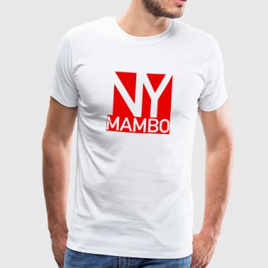 NY Mambo - New York Mambo Danceshirt - red - Männer Premium T-Shirt