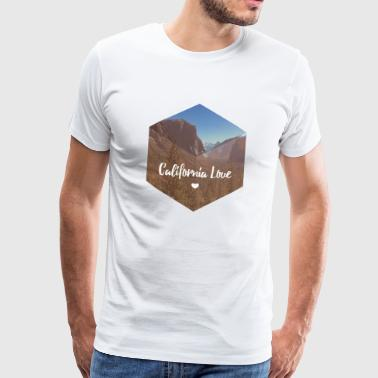 Parc national de Yosemite en Californie - T-shirt Premium Homme