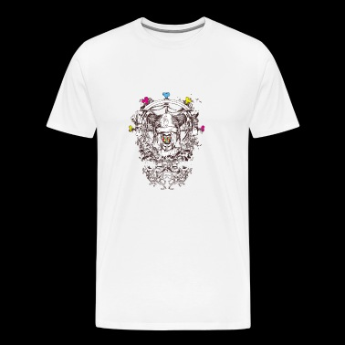 Abstract art - mythical creature - Men's Premium T-Shirt