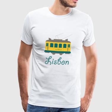 Sweet lisbon logo gift idea - Men's Premium T-Shirt