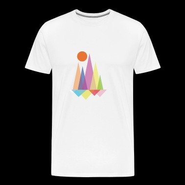 Triangle solaire - T-shirt Premium Homme