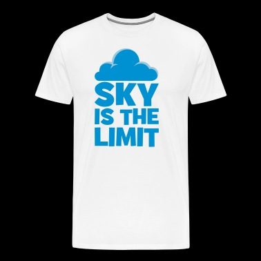 sky is the limit - T-shirt Premium Homme