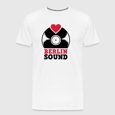 Sound record Hood Chiller Berlin - Men's Premium T-Shirt