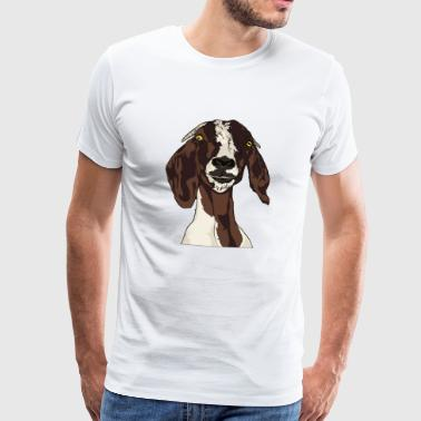 goat goat sheep sheep rambock3 - Men's Premium T-Shirt