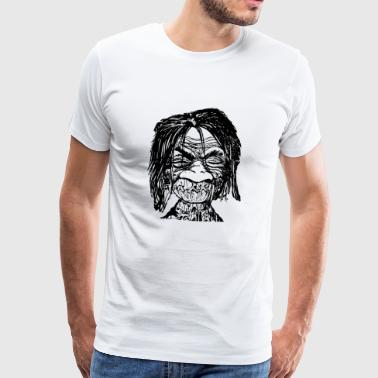 monster - Herre premium T-shirt