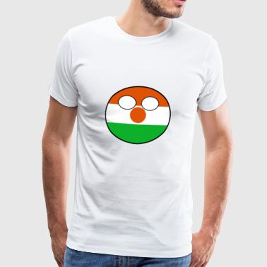 Countryball Country Home Niger - Men's Premium T-Shirt