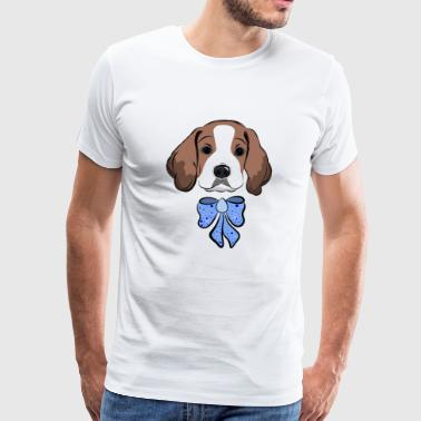 Beagle puppy, dog lover, gift idea - Men's Premium T-Shirt