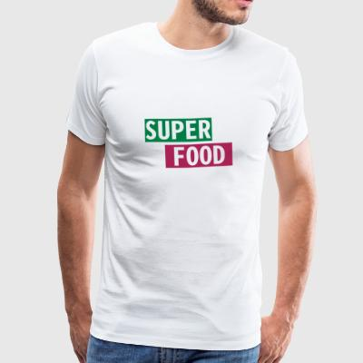 Superfood - Männer Premium T-Shirt