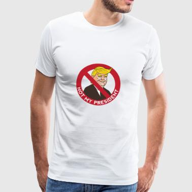 Not Trump - Men's Premium T-Shirt