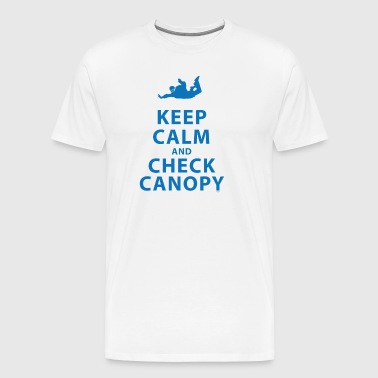 KEEP CALM AND CHECK CANOPY 5 - Men's Premium T-Shirt