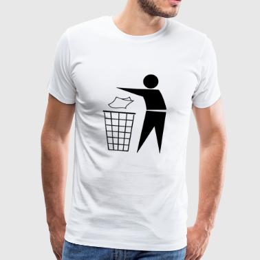 Waste disposal Recycling - Men's Premium T-Shirt