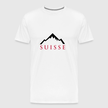 Swiss Alps - T-shirt Premium Homme