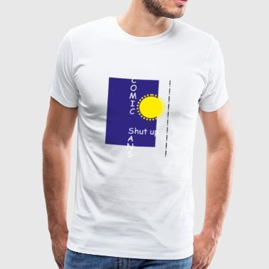 comic Sans - Premium T-skjorte for menn