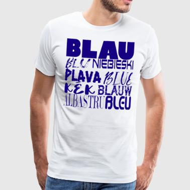 Blue international - T-shirt Premium Homme