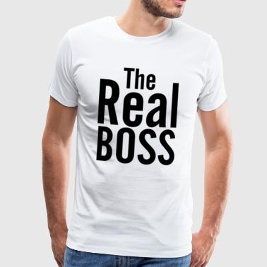 THE REAL BOSS - Männer Premium T-Shirt