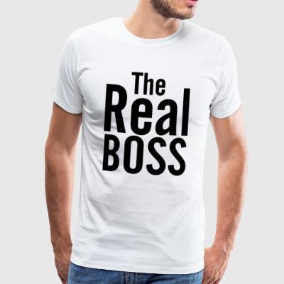 LE REAL BOSS - T-shirt Premium Homme