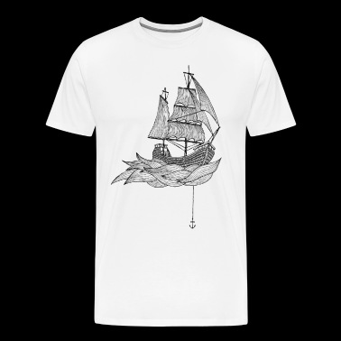 The ship - Men's Premium T-Shirt