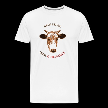 No steak - without barbecue sauce - Men's Premium T-Shirt