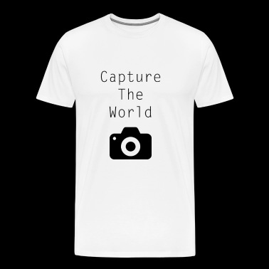 Photographie - Capture The World - dire noir - T-shirt Premium Homme