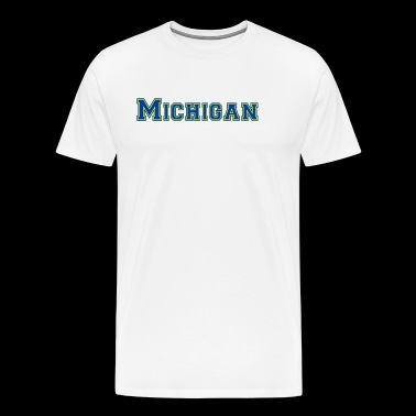 Michigan - Premium-T-shirt herr