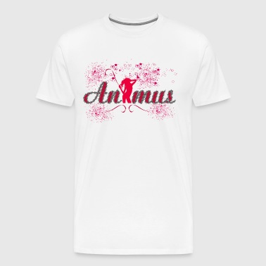 animus - Premium T-skjorte for menn