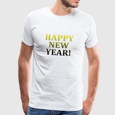 Happy New Year - Männer Premium T-Shirt