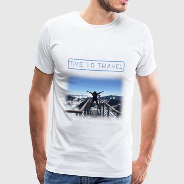 Time to travel - Männer Premium T-Shirt