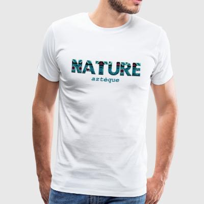 Azteca Nature - Premium T-skjorte for menn
