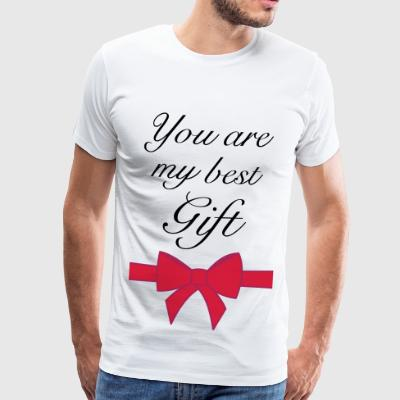you are my best gift - Männer Premium T-Shirt