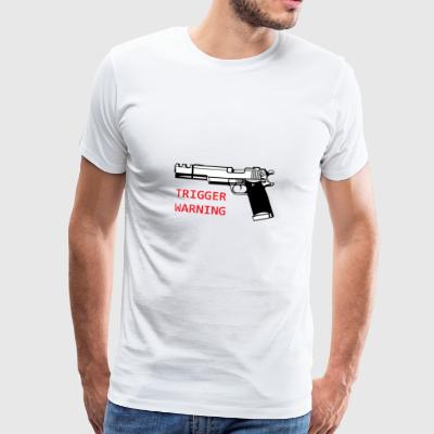 Anti-Snowflake Trigger Waarschuwing Collection - Mannen Premium T-shirt