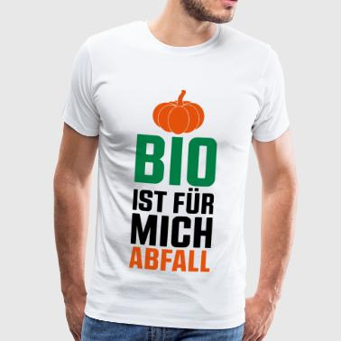 BIO ER FOR MIG AFFALD - KVINDSKIFT - Herre premium T-shirt